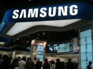 Stand Samsung MWC 2012