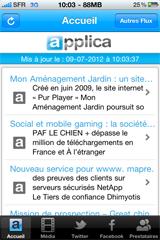 Applica-iphone-update