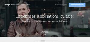 Google Moteur de Réussites Françaises – Accueil