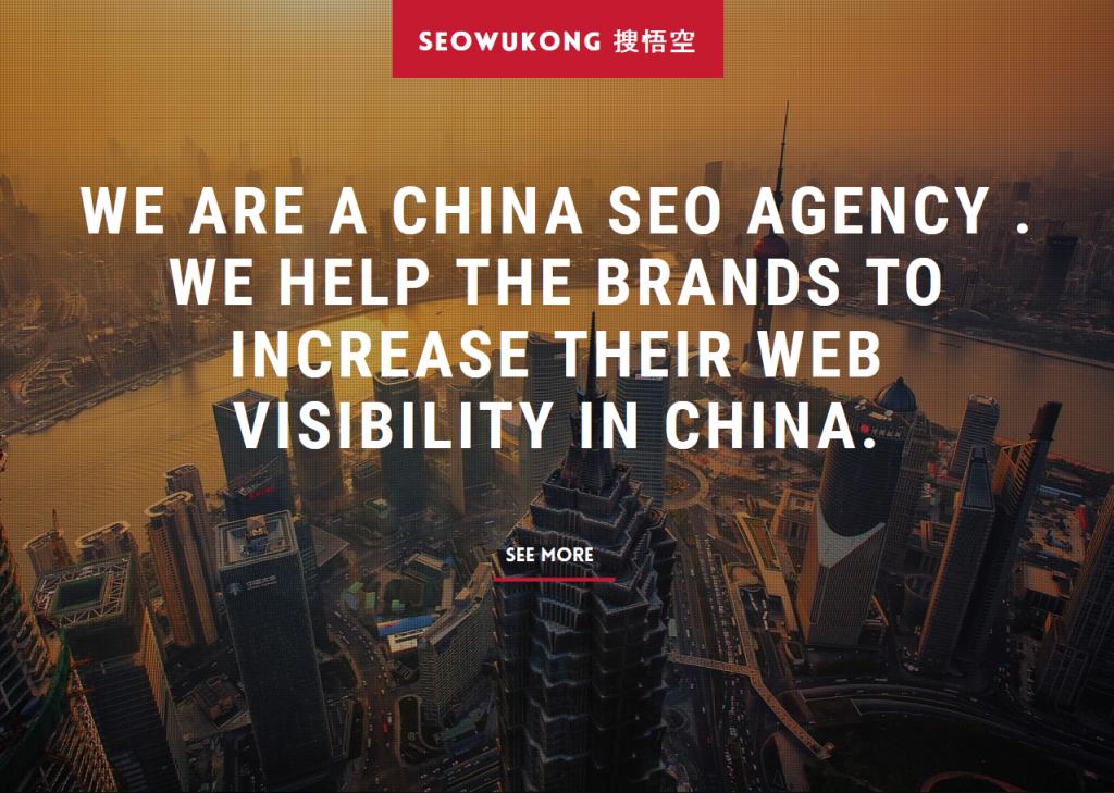SEOWUKONG – Votre agence SEO pour vos projets web en Chine !