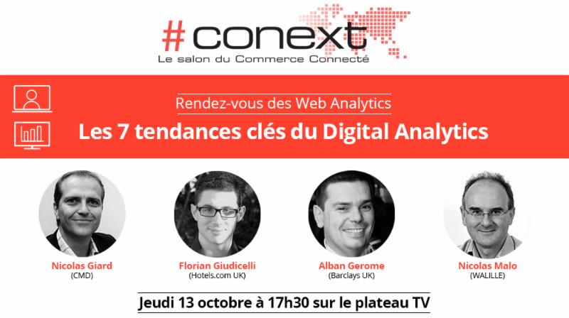 Rendez vous des web analytics au salon conext for Salon conext