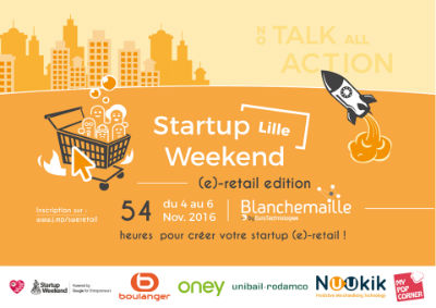 Startup Weekend E-Retail Lille