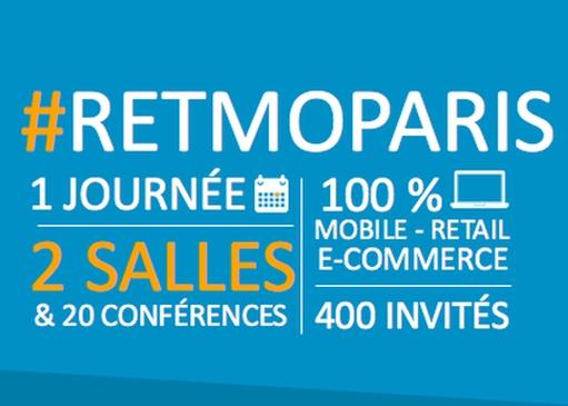 Retmo : 2e édition de la conférence retail mobile – 27 avril à Paris