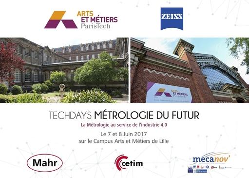 Techdays ENSAM: Métrologie du futur & Industrie 4.0