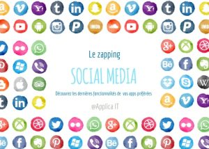 Une - zapping social media