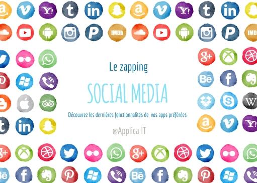 Une - zapping social media