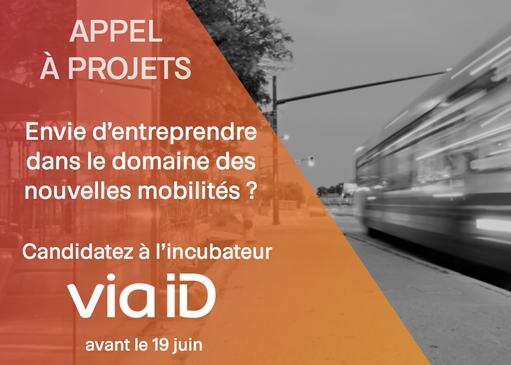 Appel à projets Via ID : innovez dans les nouvelles mobilités