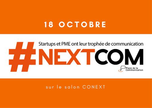 Candidatez à la 1ère édition du Trophée #NextCom !