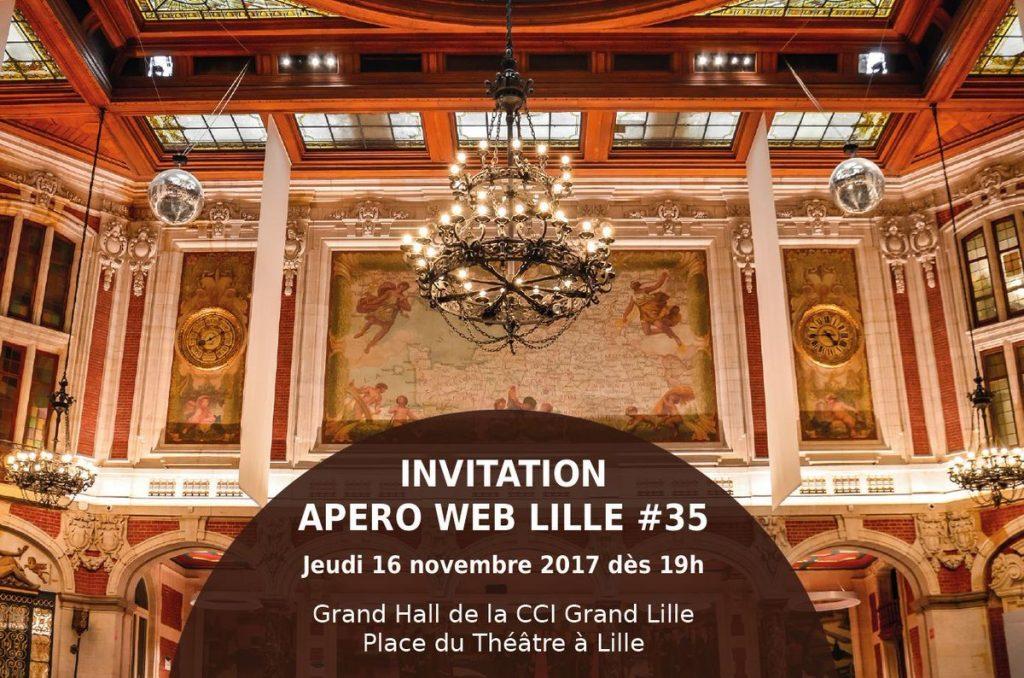 Apéro Web #35 : Pour la première fois à la CCI Grand Lille – RDV le 16 novembre !