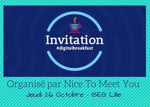 [Digital Breakfast] : 1h pour comprendre l'Inbound et le Content Marketing  par Nice To Meet You
