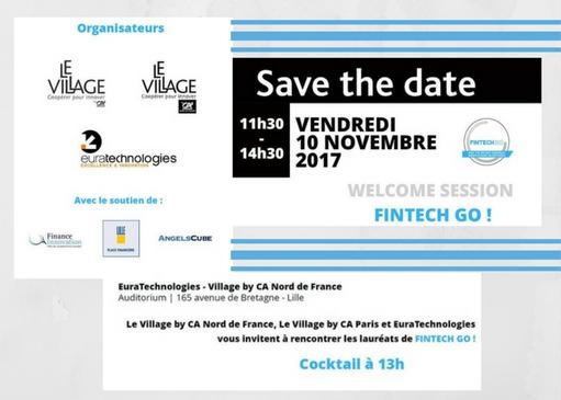 Welcome session Fintech GO ! le 10 novembre