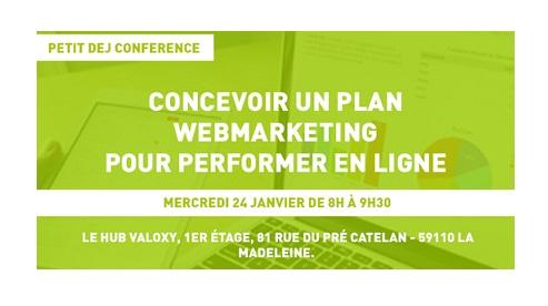 24/01 – Petit dej' LEMON : Concevoir un plan webmarketing pour performer en ligne