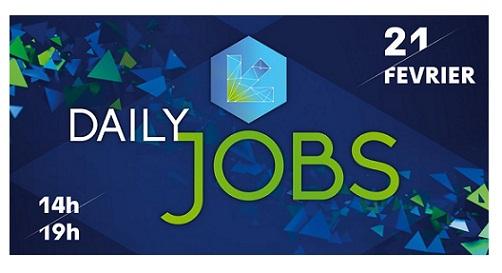 Daily Jobs 2018 à Euratechnologies – 21 février