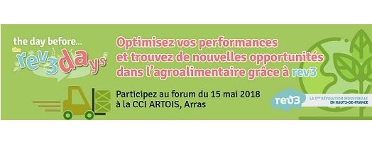 Forum agro rev3 : RDV le 15 mai à la CCI Artois
