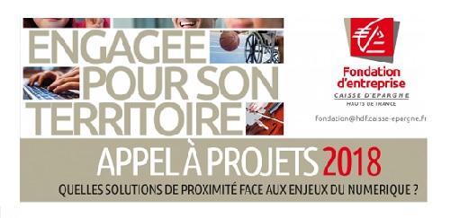 La Fondation d'Entreprise Caisse d'Epargne Hauts de France lance son 1er Appel à Projets lié au numérique