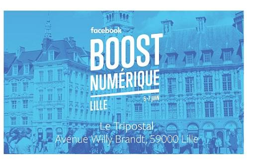 La CCI Grand Lille est partenaire de Facebook Boost Numérique !