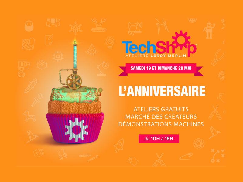A Lille, TechShop Ateliers Leroy Merlin souffle sa première bougie