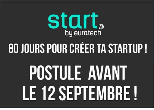 Start by Euratech : 80 jours pour créer sa startup