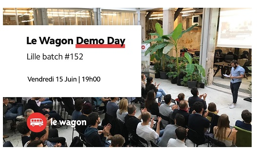Le Wagon : Demo day le 15 juin à Lille