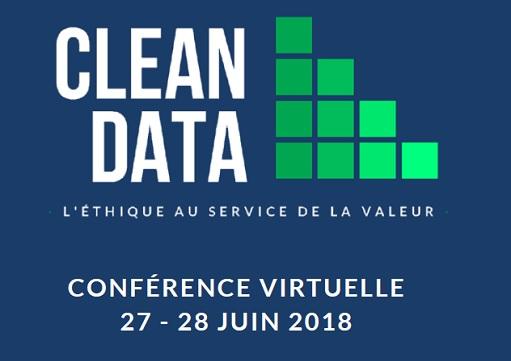 CLEAN DATA : les 27 et 28 juin, participez à la  1ère e-conférence internationale sur la protection des données personnelles et le Privacy by Design