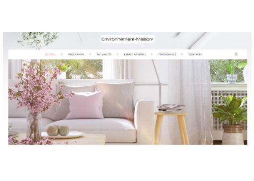 Découvrez le nouveau site Environnement maison