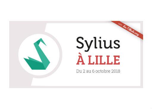 Sylius à Lille : une série d'événements du 2 au 6 octobre 2018 !