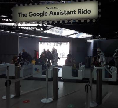 Google assistant ride