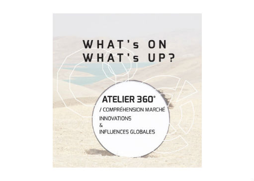 Atelier 360° compréhension marché & influences globales