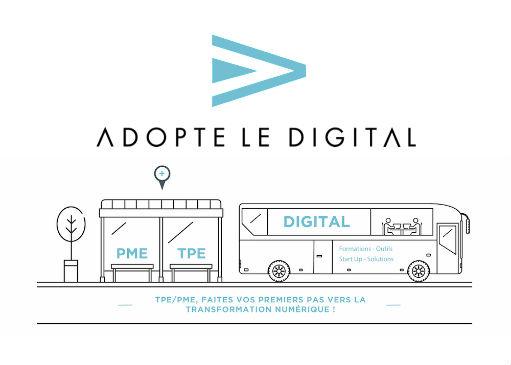 Adopte le Digital la tournée à …