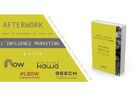 «Influence Marketing – Stratégies des marques avec les influenceurs.» Livre