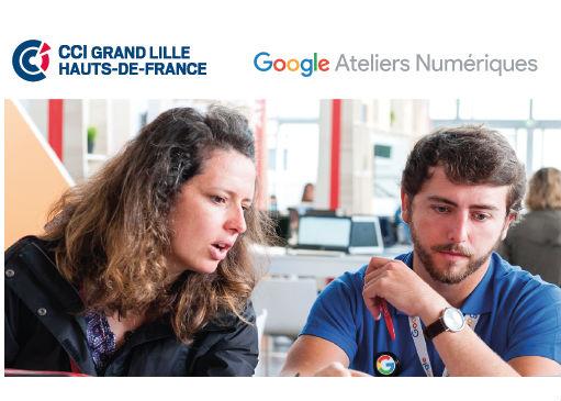 Google Ateliers Numériques de retour à la CCI Grand Lille