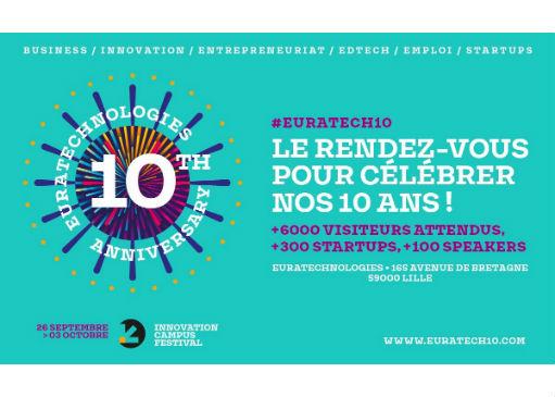 Les speakers des 10 ans d'EuraTech à ne pas manquer !