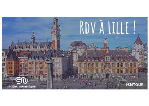 #SNTOUR : Rendez-vous à Lille !