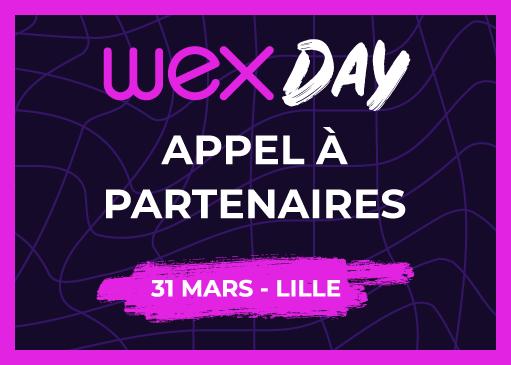 Devenez partenaire du Wex Day !