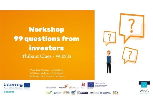 VC Event 99 questions d'investisseurs