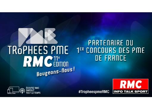 Prenez part à l'aventure des Trophées PME RMC !