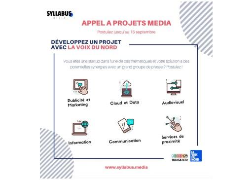 Appel à projets – Syllabus Média