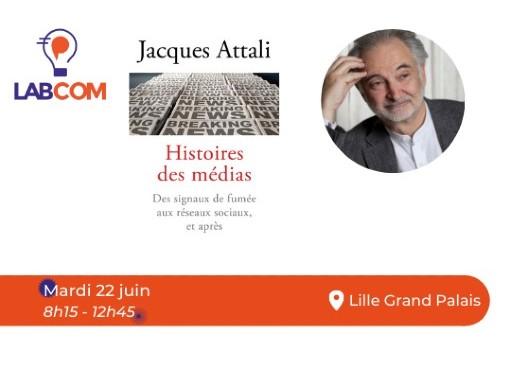 Jacques Attali invité du LAB'COM