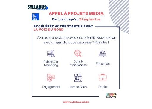 Syllabus Média recrute sa 4ème promo